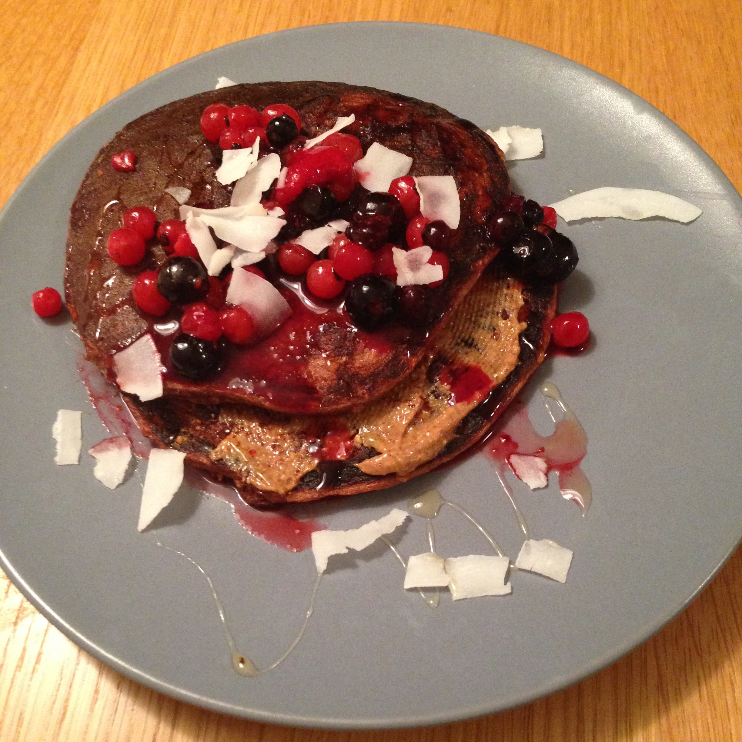 Chocolate Protein Pancakes to DIE for!! - Life Like Lunden