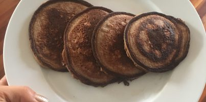 peanut butter protein pancakes without toppings