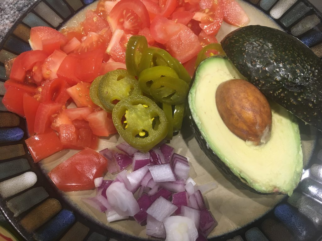 toppings for the healthy burrito bowl
